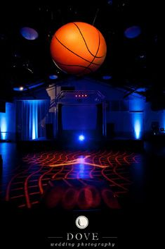 Basketball Themed Bar Mitzvah at Noah Liff with Events by Angela Proffitt