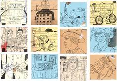 Sierra Madre, CA artist Mark Todd Illustration Sketches, Graphic Illustration, Visual Diary, Artist Trading Cards, Freelance Illustrator, Traditional Design, Sketchbooks, Art Art, Illustrators