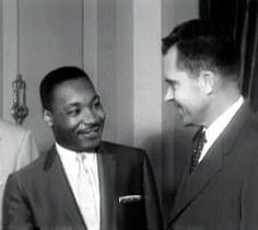 Nixon and Dr. King