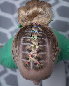 160 Braids Hairstyle Ideas for Little Kids 2019 - Kinder frisuren - Braided Hairstyles Girls Hairdos, Baby Girl Hairstyles, Kids Braided Hairstyles, Box Braids Hairstyles, Hairstyle Ideas, Toddler Hairstyles, Short Hairstyles For Kids, Hairstyle For Kids, Pretty Hairstyles