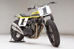Racing Cafè: Yamaha XS 650 Dirt Track by Palhegyi Design