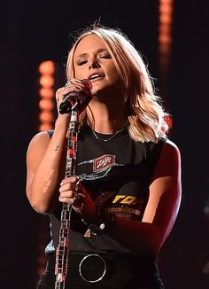 April 1 - Miranda Lambert performs at the 51st Annual ACM Awards rehearsals in Las Vegas, Nevada.