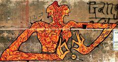 Shiva and Shakti Artist : INKBRUSH N ME Where? Varanasi, UP