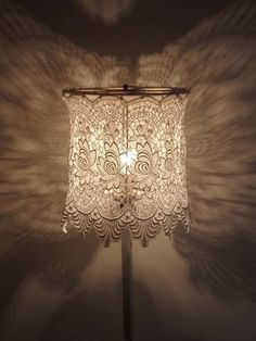 Doiley lamp shade