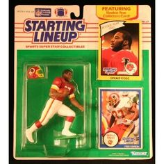 GERALD RIGGS / WASHINGTON REDSKINS 1990 NFL Starting Lineup Action Figure & Exclusive NFL Collector Trading Card (Toy)  http://ruskinmls.com/pinterestamz.php?p=B002RYGE48  B002RYGE48