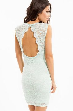 Space Lace Dress $50 at www.tobi.com