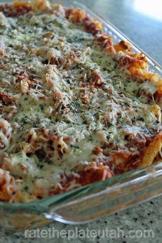Eat In Recipe: Baked Ziti - Rate the Plate Utah