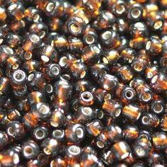 Rocallas - 2433: abalorios marrón 2 mm - hecho a mano por Maxbeads en DaWanda
