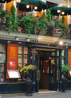 Restaurant Le Procope, Paris I was dreaming of Paris today... and of the steak they serve here... *v*,,