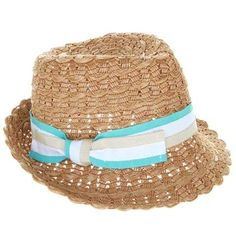 ANYA HINDMARCH: Weaved Trilby Tan- Perfect for Holiday! £145 @gift-library.com #beachaccessory #anyahindmarch