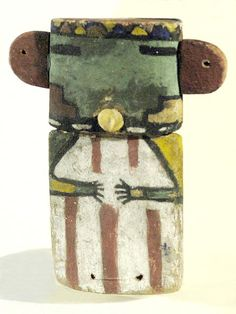 Unknown Hopi (First Mesa) artist, Katsina tihu, c. 1900; Florida Museum of Natural History