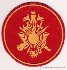 Parche Emblema de la Academia General Militar, sita en Zaragoza.