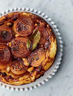 Jamie Oliver's Sticky Onion Tart Recipe | Vegetarian Xmas Starter