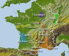 France wine tours to Bordeaux, Rhone, Burgundy, Alsace, Provence Champagne, Chablis, Gigondas, Bando, Loire | best French regions | Arblaster & Clarke Wine Tours Worldwide