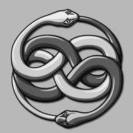 Double snake ouroboros