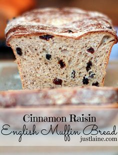 Cinnamon Raisin English Muffin Bread    Made this 6/10/13. WOW! This was super easy to make and it tastes great. I don't need to spend $$$ on English muffins or Cinnamon raisin toast any more -- this is it!