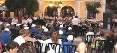 Cuatro horas de concierto puso el broche final al IV Festival Tropical de Banda de Música Nórdicas de Almuñécar