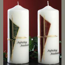 Trauerkerzen 6524-6525 Pillar Candles, Diy And Crafts, Petra, Tricks, Design, Candles, Manualidades, Art, Decorated Candles