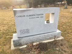 Unique tombstone designed by an architect Art And Architecture, Architecture Details, Tombstone Designs, Memorial Cards, Design Concepts, Monuments, High Quality Images, Cemetery, Oc