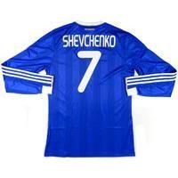 2011-12 Dynamo Kiev Player Issue Away European Shirt Shevchenko  7  w Tags    65254aeae