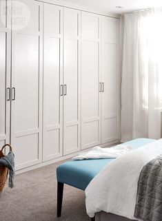 super Ideas for wall closet storage cabinets Bedroom Closet Doors, Bedroom Wardrobe, Master Closet, Closet Wall, Wall Of Closets, Modern Closet Doors, Wardrobe Wall, Bedroom Closet Design, Bathroom Doors