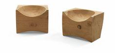 Riva 1920   Log (solid cedar wood / indoor or outdoor spaces)   design by C.r. & S. Riva1920 (Maurizio & Davide Riva)