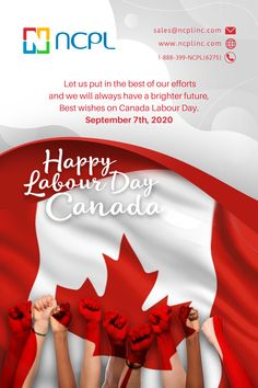 Have a great long Labour Day weekend, Canada! Stay safe, wear a mask indoors, download the COVID Alert App, take care of one another, and glow with the flow. #happycanadalabourday