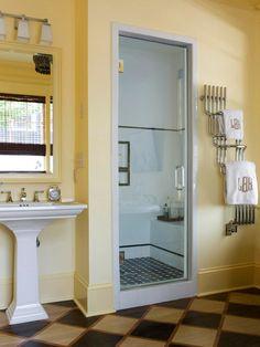 schöne ideen begehbare duschkabine einzel raum