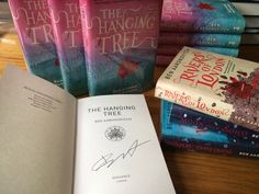 Signed copy of 'The Hang Tree' by Ben Aaronovitch, writer of 'The Rivers of London' series.