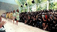 Finale at Burberry Prorsum Spring/Summer 2014