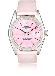 We Adore: The Vintage Oyster Perpetual Date Watch from Vintage Watch at Barneys New York