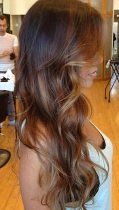 haircuts layers brown hair color with light warm brown highlights 2197
