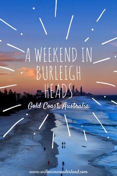 The new Gold Coast host spot. Best weekend in Burleigh heads for travel along Australia east coast. Beach markets entertainment and eat & Drink Housing Jobs, Gold Coast Australia, Western Australia, Australia Tourism, Airlie Beach, Dream City, Water Activities, Beach Holiday, Asia Travel