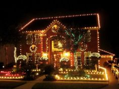 Decorating Townhouse Front Yard Landscaping Ideas Large Christmas Lights Easy Homemade Decorations 620x465 Outside