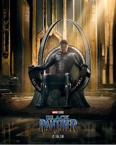The Black Panther Feb 16, 2018. I can't wait!!!!