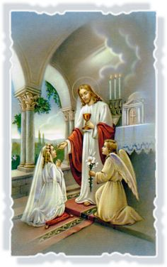 Spiritual Pictures, Religious Pictures, Jesus Pictures, First Communion Cards, First Holy Communion, Vintage Holy Cards, Jesus Christ Images, Church Stage Design, Eucharist