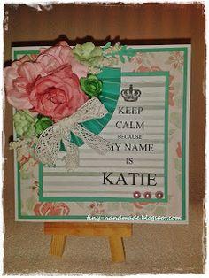 Urodzinowa w mięcie i różu Handmade Birthday Cards, Frame, Decor, Picture Frame, Decoration, Diy Birthday Cards, Decorating, Frames, Homemade Birthday Cards