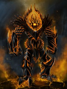 fire colossus by 7kive.deviantart.com on @deviantART