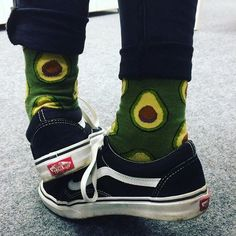 You guac my world Polka Dot Socks, Striped Socks, Tyler The Creator, Kanye West, Food Socks, Hypebeast, Vans Outfit, Long Socks Outfit, Funky Socks