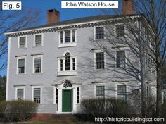 images of Historic homes in CT | ... also considered one of Connecticut's greatest Federal-style houses