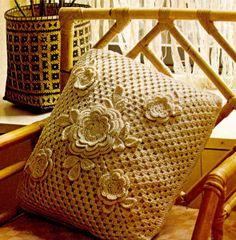 Cómo hacer un cojín de crochet