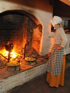 "Join us as we make a summer-inspired meal at the hearth.  You will make and taste 19th century ""tomata catsup"" and be able to take a bottle home with you.  Also make and enjoy an 18th century egg and bacon pie, potato balls and peach cream.  Yum!     Hearth Cooking Class: ""Summer Savories""  Thursday, August 9, 2012  6:00pm - 8:30pm  Single Brothers' Workshop  (10 West Academy Street)    More at www.oldsalem.org/museum-classes"