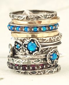 Ruth Doron Designs Stack Rings