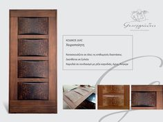 wooden by Georgiadis Furniture Basic Tools, Work Tools, Handmade Furniture, Wooden Furniture, Wooden Doors, Handmade Wooden, Woodworking Tools, Coding, Design