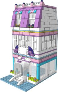 Emma's Place - PDF Intructions for this and a few other MOC's