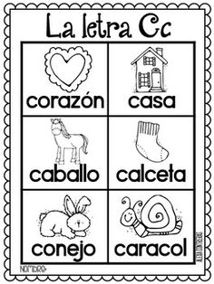 Las Palabras Del Alfabeto {Alphabet portable... by Bilingual Scrapbook | Teachers Pay Teachers