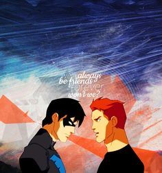 Nightwing and Wally West