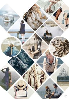 [ Mood Board ] In the Navy : Marins and navires