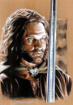 Aragorn_Son of Arathorn by ~Buchemi on deviantART ~ LOTR
