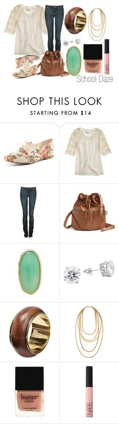 """Thursday's ""high school student"" outfit ♥"" by tracyepatricee ❤ liked on Polyvore featuring Dorothy Perkins, Madewell, Marc by Marc Jacobs, Gentle Fawn Clothing, Kenneth Jay Lane, Friis & Company, Fallon, Butter London and NARS Cosmetics"